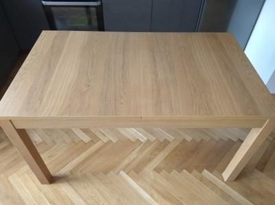Stół Rozkładany Ikea 84x140180220 Cm Okleina Dąb 6537635935