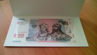 1050 Rocznica Chrztu Polski Banknot 20 Zl 6839216309 Oficjalne Archiwum Allegro