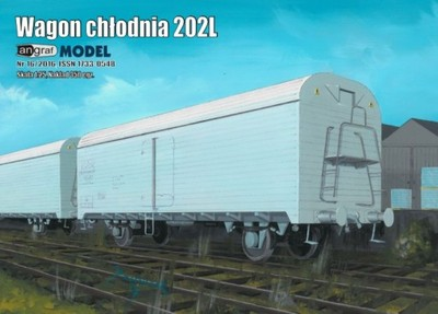 Wagon chłodnia 202 L 1:25 Angraf Model