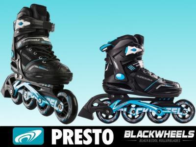 a23c4caf1 ROLKI Łyżworolki DAMSKIE Slalom Blackwheels 40 - 4064374591 ...