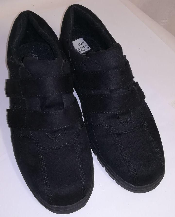 buty adidas damskie czarne rzepy