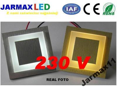 Oświetlenie Schodowe Led 230v Do Puszki Fi 60mm