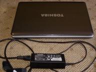 Uszkodzony laptop TOSHIBA