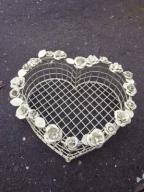 koszyk -serce metaloplastyka