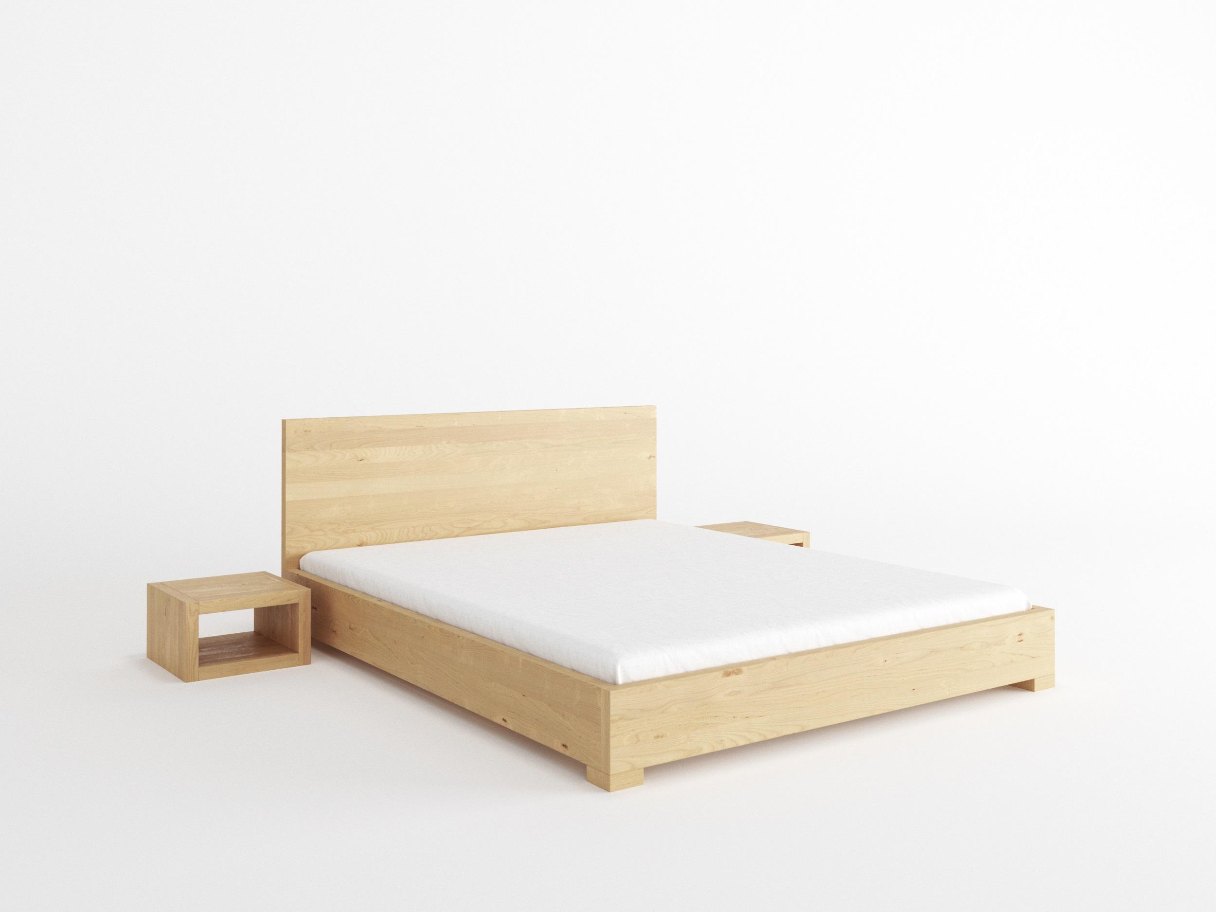 łóżko Bukowe 80x200 Proste łóżko Do Sypialni 7048732356