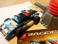 LEGO Racers 7970 samochód wyścigowy z wyrzutnią