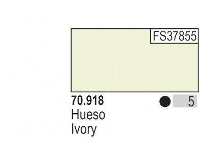Ivory 005 Farbka Vallejo Model Color