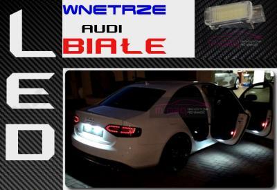 Oświetlenie Wnętrza Audi Led A2 A3 8p A4 B6 B7 B8