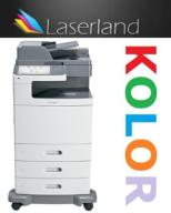 Lexmark x792 kolor laser ksero skan faks 20k str