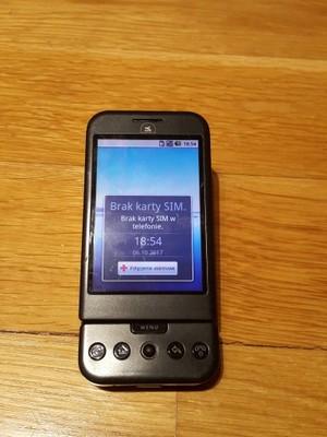 2e0646b6 Telefon Google Era G1 Android 1.6 QWERTY - 6990410059 - oficjalne ...
