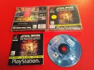 STAR WARS EPISODE I Phantom Menace psx ps1 ps2 3xA
