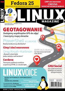 Linux Magazine 1/2017: Geotagowanie Fedora 25