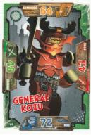 NINJAGO karta 93 Generał Kozu