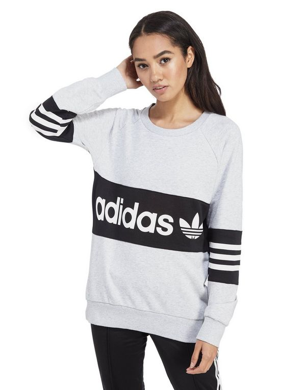 Adidas Originals Street Crew Sweatshirt Grey r. M