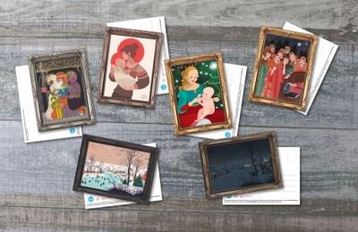 Zestaw 6 kartek świątecznych!