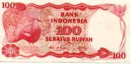 Indonezja 100 Rupii 1984 P-122b