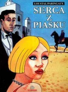 SERCA Z PIASKU Komiks dla dorosłych lata 30 XX w.