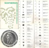 Katalog mark walutowych *MUNTMERKEN* z ekslibrisem
