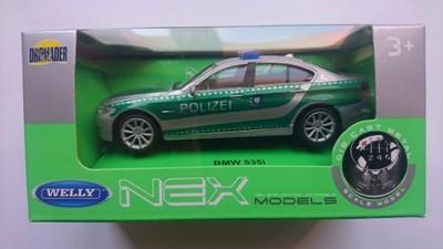 WELLY BMW 535i POLICJA AUTO 1:43 METALOWE ŁÓDŹ