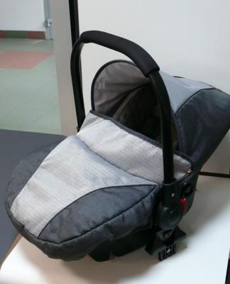 Fotelik Samochodowy Capri Baby 0 10kg Grafit 6993817505