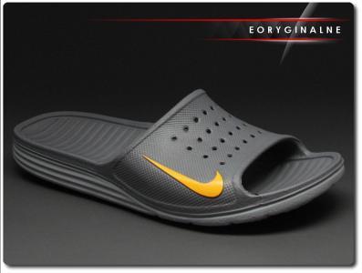 gładki świetna jakość Hurt Klapki męskie Nike Solarsoft Slide 386163-080