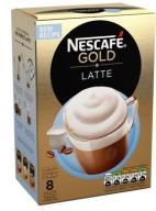 Nescafe GOLD LATTE KAWA 8S SASZETKI z Niemiec