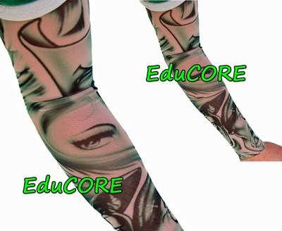 Tatuaż Kobiece Oko Rękaw Uniwersalny Educore 6400362300