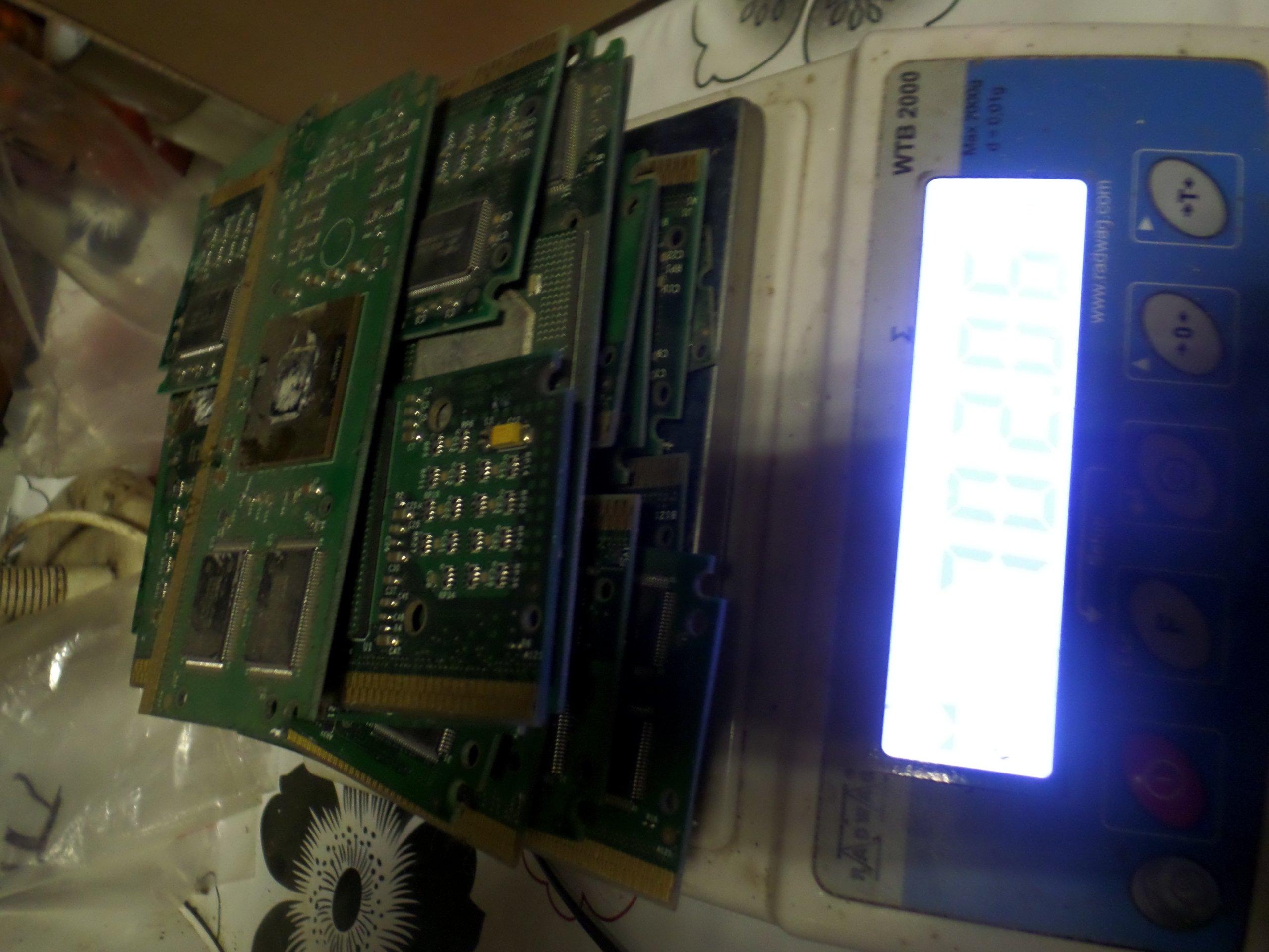 Odzysk złota procesory slot 700gr