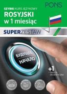 Rosyjski w 1 miesiąc Super zestaw  24h