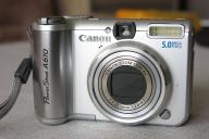 Canon A610 mega zestaw