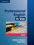 Professional English in Use. Law