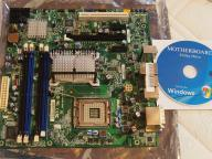 NOWA PŁYTA GŁÓWNA INTEL DQ45CB s775 DDR2 DVI +RAM