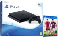 KONSOLA PLAYSTATION SLIM 500GB + FIFA PS4 * W-wa
