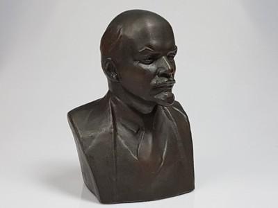LENIN POPIERSIE RZEŹBA SYGNOWANA wys. 27 cm ! ZSRR