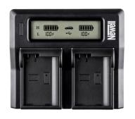 OUTLET OLEOLE! NEWELL LCD DUAL CHARGER DO NP-FP50