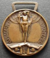 Stary Medal Włochy 1915 1918 sygnowany (1046)