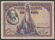 Hiszpania - 100 peset - 1928 - Cervantes