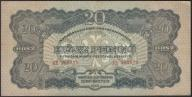 127.WĘGRY - 20 PENGO - 1944 , st. 3