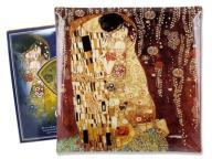 Talerz dekoracyjny G. Klimt Pocałunek