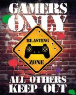 Gamers Only All Others Keep Out - plakat 40x50 cm