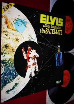 ELVIS PRESLEY - ALOHA FROM HAWAII VIA .. LIVE 2LPs