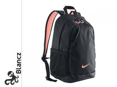 f8fbb7c0a6119 Plecak Nike BA4731 szkolny - damski czarny różowy - 4512880448 ...