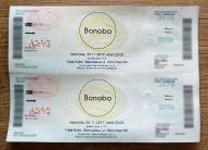2 bilety na koncert BONOBO Warszawa 05.11.2017