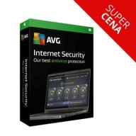 AVG Internet Security 2017 1PC 2 lata antywirus FV