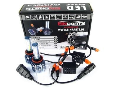 EINPARTS ZESTAW ZARÓWKI LED H11 XENON LOOK CAN BUS