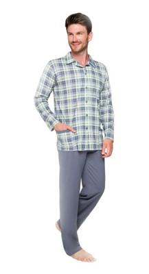 99e86cd78441c1 Taro Gracjan 788 6XL piżama rozpinana szary #ATM - 6994743692 ...