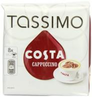 TASSIMO Costa Cappuccino 16 T DISCs, (Large Cup Si