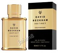 DAVID BECKHAM INSTINCT GOLD EDITION 50ml EDT MEN