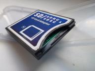Adapter karty pamięci SDHC SDXC CF