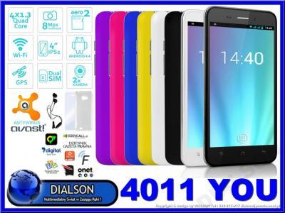 Smartfon OVERMAX VERTIS 4011 YOU DUAL SIM DODATKI